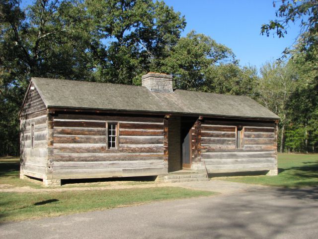 Cabin at Meriwether Lewis Parkway
